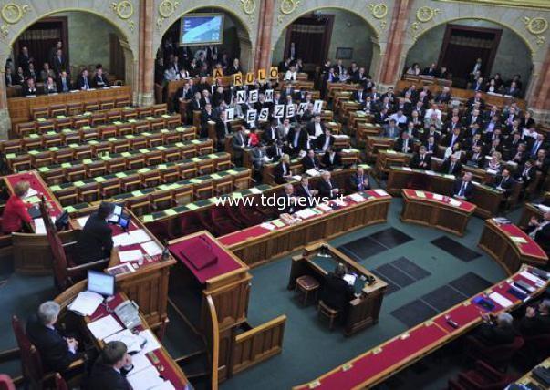 Ungheria parlamento nega riconoscimento a 66 credi for Rassegna stampa parlamento